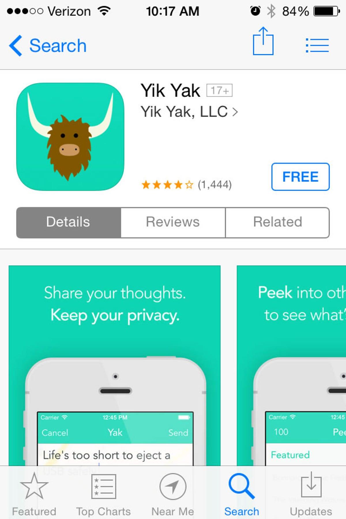 Yik Yak app concerns campuses