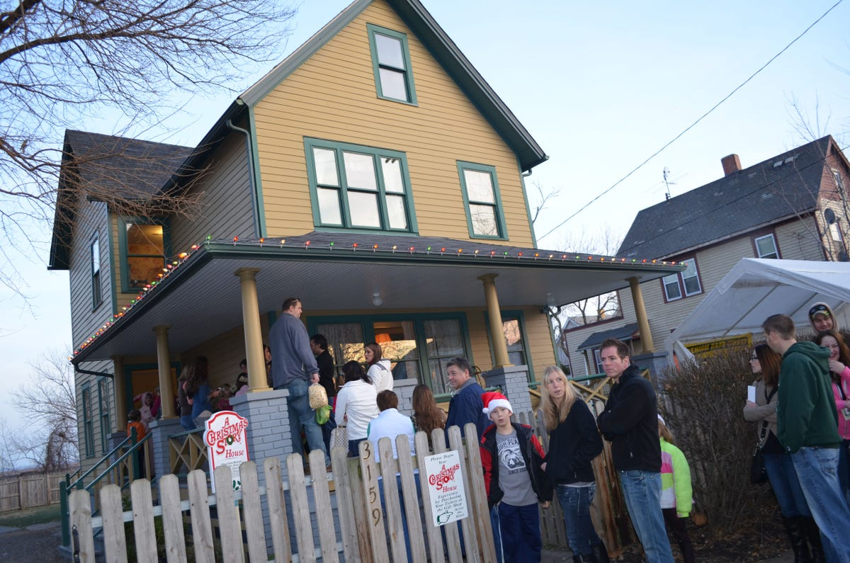 Christmas Story House.Spend The Night Inside The Christmas Story House