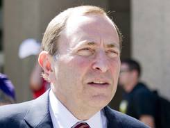 NHL Commissioner Gary Bettman has locked out players two times previously.