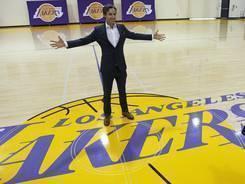 Steve Nash brings his MVP playmaking skills to Los Angeles this season.