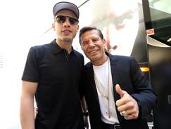 Legendary champion Julio Cesar Chavez  Sr, right,  and his son, undefeated WBC middleweight champion Julio Cesar Chavez Jr., have mended their relationship after years of drug and alcohol abuse by the father.