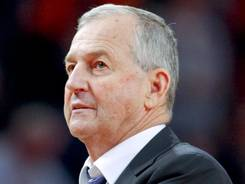 Connecticut coach Jim Calhoun will step down Thursday after 26 years and three national titles with the Huskies.