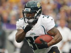 Jaguars RB Maurice Jones-Drew rushed for 77 yards in backup duty last Sunday.
