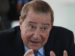 "Top Rank boxing promotor Bob Arum says it's not a cold war when one side is ""a gnat,"" or a pest."