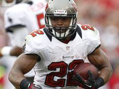 Buccaneers running back Doug Martin accounted for 118 total yards in his first NFL game.