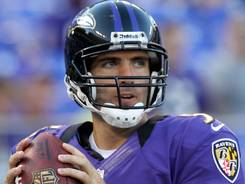 This week's game against the Eagles is the  first road test for Ravens quarterback Joe Flacco in the team's new no-huddle scheme.