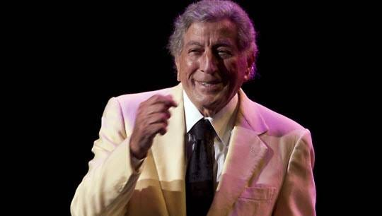 ORG XMIT: 19754315 US singer Tony Bennett performs at the North Sea Jazz Festival, in Rotterdam, on July 8, 2012. AFP PHOTO / ANP / PAUL BERGEN ***