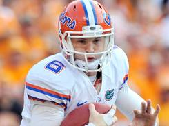 Florida quarterback Jeff Driskel solidified his spot at the Gators starter by leading them to a rout of Tennessee in Knoxville.
