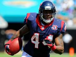 Texans backup RB Ben Tate burned the Jaguars for two TDs on Sunday.