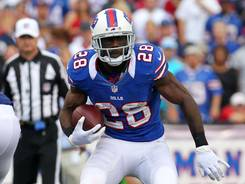 Just as he did last season, Bills running back C.J. Spiller has taken over the starting job from the injured Fred Jackson and thrived. He rolled up 170 combined yards on Sunday and scored a pair of touchdowns.
