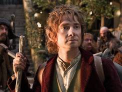 Martin Freeman will play Bilbo Baggins in 'The Hobbit' trilogy of films.