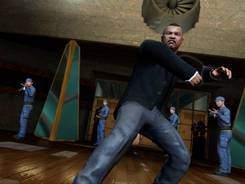 Goldfinger henchman Oddjob is shown in a scene from video game '007 Legends.'