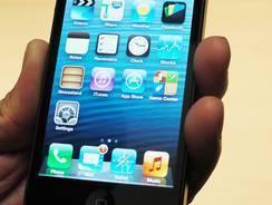 Apple's new iPhone 5.