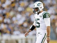 Jets QB Tim Tebow took only three offensive snaps Sunday in Pittsburgh