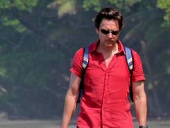 Andrew McCarthy, shown here in Costa Rica, is the author of 'The Longest Way Home.'