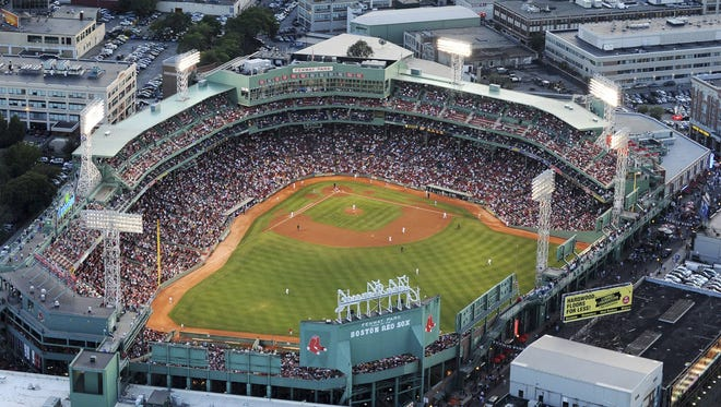 Fenway Park, shown here in August 2009, has seen 793 consecutive sold-out Red Sox home games.