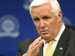 Gov. Tom Corbett was among Pennsylvania politicians who lobbied to have all $60 million used for in-state programs.