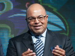 ESPN's Mike Tirico is one of the TV announcers to not hold back on judging the quality of officiating by the NFL replacement referees.