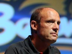 A win Saturday at UCLA would put Mike Riley into a tie for winningest football coach in Oregon State history.