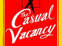 'The Casual Vacancy' by J.K. Rowling comes out next week.
