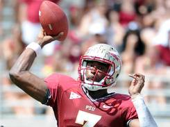Behind starting QB EJ Manuel, Florida State has averaged 55.7 points in the first three games.
