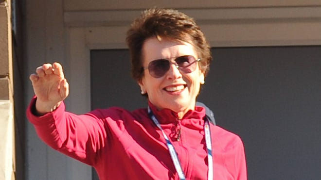 Billie Jean King says about the equal prize money issue in tennis that it isn't about the money, it's about the message.