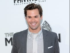 Andrew Rannells gained fame on Broadway in 'The Book Of Mormon,' and now he's starring on NBC's 'The New Normal.'