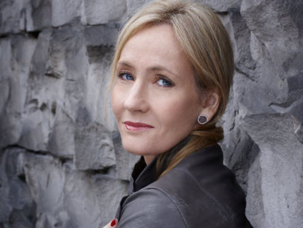 Exclusive: J.K. Rowling takes career in new direction