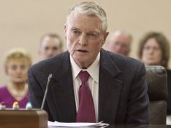 Nebraska athletics director Tom Osborne will step down after five years in the