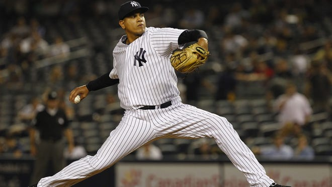 Dellin Betances pitched in two games for the New York Yankees in 2011 before spending the entire 2012 season in the minors. He was shut down in August with a shoulder injury but is scheduled to pitch in the Arizona Fall League.