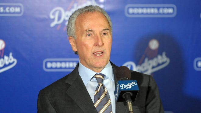 Former Dodgers owner Frank McCourt, shown in 2011, is being accused of fraud by his ex-wife.