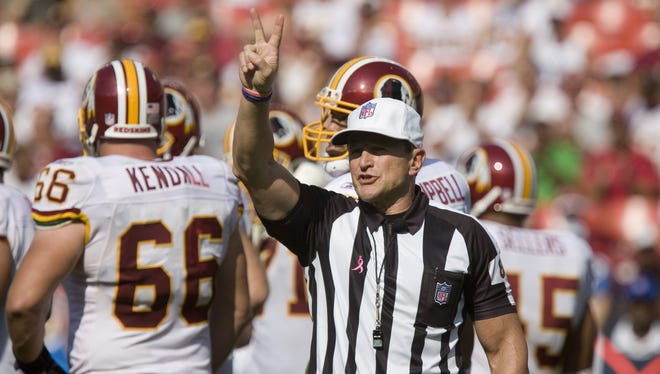 Ed Hochuli and the NFL's regular officials are doing everything they can to remain ready to go when called.