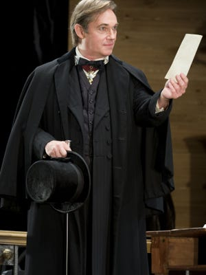 Richard Thomas stars as Mayor Peter Stockmann in 'An Enemy of the People,' playing at the Samuel J. Friedman Theatre.