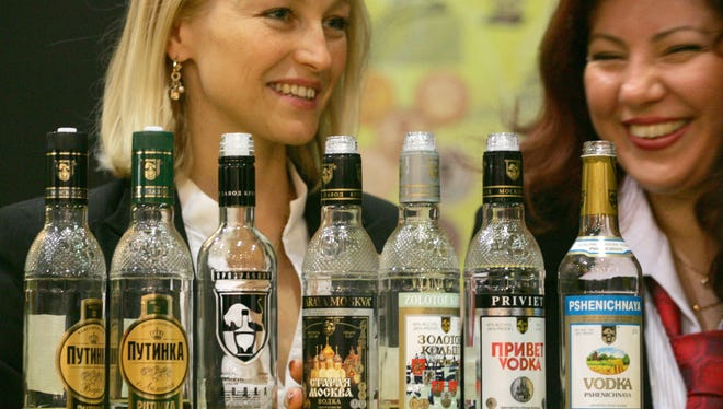 Visitors to Russia are urged to adhere to the country's vodka rituals: Never mix or dilute it, down your shot in one gulp (if you're a man) and remember that it's for toasting and not sipping.