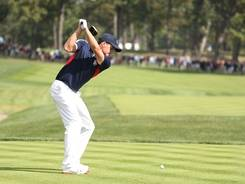 Expect to see a lot of drivers in use from Keegan Bradley and the rest of the U.S. team this week at the Ryder Cup.