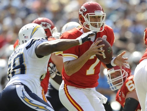 QB Matt Cassel and the Chiefs hope to even their record at 2-2 vs. the ...