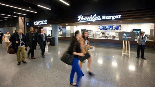Brooklyn Burger, which will serve steakhouse burgers, is one of 37 Brooklyn vendors at Barclays Center.