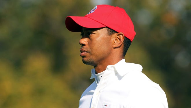 Tiger Woods, after going 0-2 on Friday, will sit out the Saturday morning foursome session.