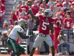 Ohio State quarterback Braxton Miller will be challenged to make plays against the Michigan State defense.
