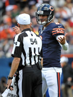 Fantasy owners are at a loss to describe the performance of Bears quarterback Jay Cutler through   three weeks. He's completing 52.7% of his passes with three touchdowns and six interceptions.