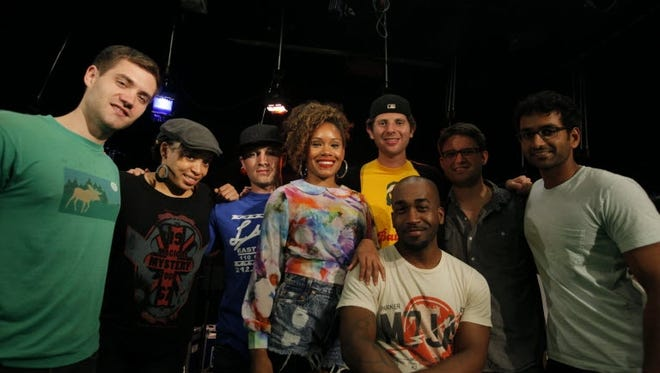 The hip-hop pop band stopped by USA TODAY's Studio A for a jam session and interview.