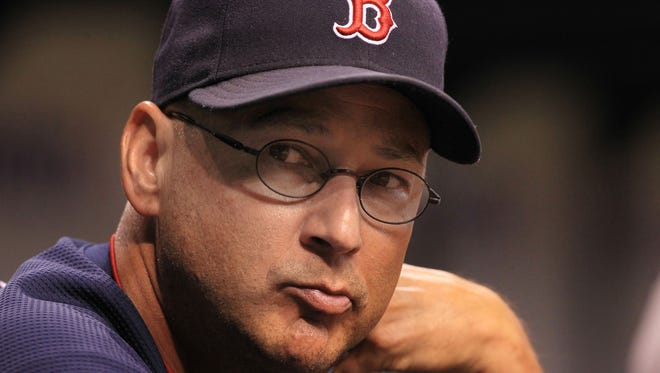 Terry Francona led the Red Sox to two World Series titles but was let go after last season.