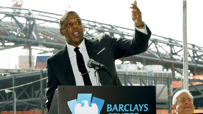 Jay-Z, shown Sept. 26, 2011, helped bring the Nets to Brooklyn and Barclays Center