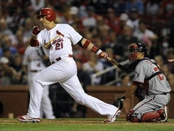 Cardinals first baseman Allen Craig went 4-for-4 and drove in two runs in the 12-2 win.