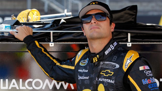 Nelson Piquet Jr., shown here at Bristol Motor Speedway on Aug. 22, won his second NASCAR Camping World Truck Series race of the year Saturday night in Las Vegas.
