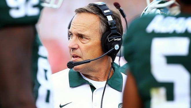A member of Michigan State coach Mark Dantonio's staff accused Ohio State of doctoring game film.