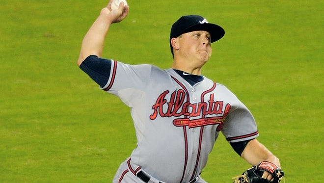 Braves pitcher Kris Medlen was one of this season's top free agent pickups for fantasy owners. After returning to the starting rotation in July after a stint in the minors, Medlen went 8-0 with a 1.04 ERA in 11 starts.