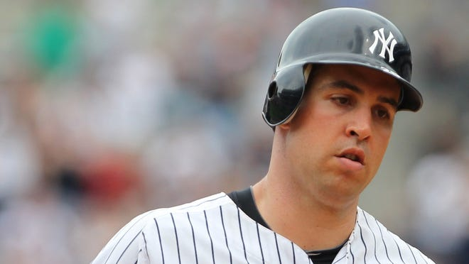 Yankees first baseman Mark Teixeira was batting .255 at the time of his injury.