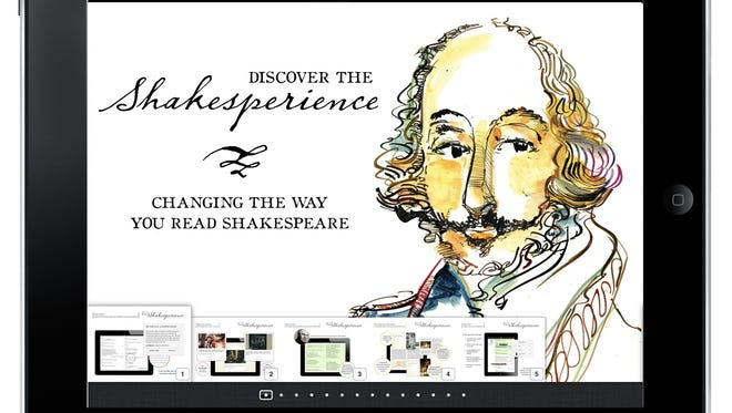 "The enhanced ""Shakesperience"" updates the Bard's work for iPad users."