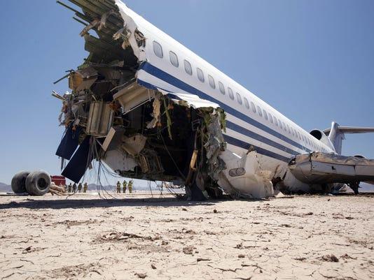 Discovery plane crash